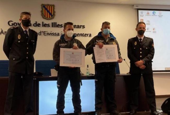 La Policía Nacional reconoce la labor de los profesionales de la seguridad privada en la protección del personal sanitario