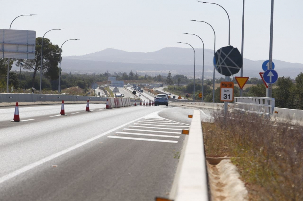 Abre al tráfico el desdoblamiento de la carretera de Llucmajor a Campos