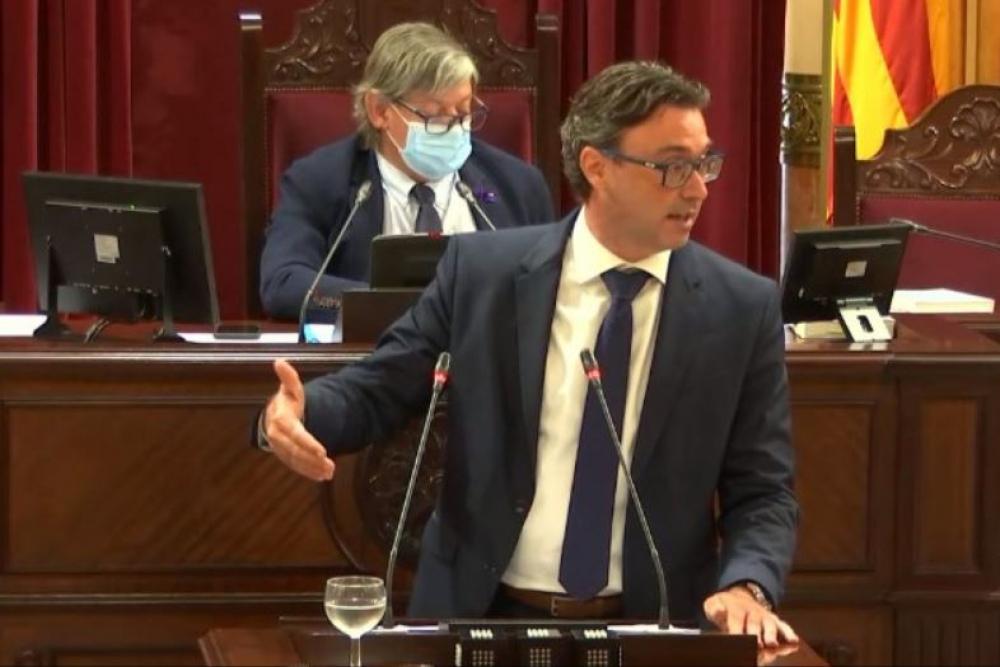 "Costa (PP): ""Ha llegado el momento de decir basta a la mala gestión del Govern Armengol"""