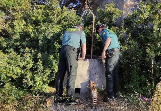 Rescatan a una mujer que se había caído al interior de un pozo en Formentera