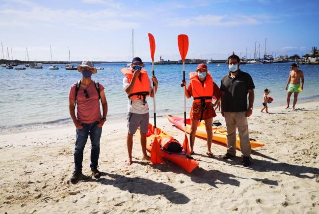 Una treintena de voluntarios vigilarán la colonia de gaviota de Adouin del islote de Na Guardis