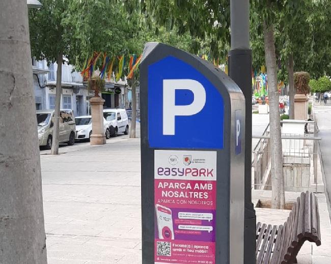 En Manacor y Porto Cristo ya se puede pagar la zona azul con la app EasyPark