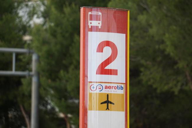 El Aerotib, que conecta el aeropuerto con distintos municipios de Mallorca, retoma el servicio el 15 de junio