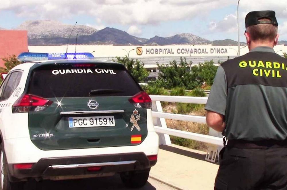 La Guardia Civil continúa con las vigilancias en los centros médicos de Illes Balears