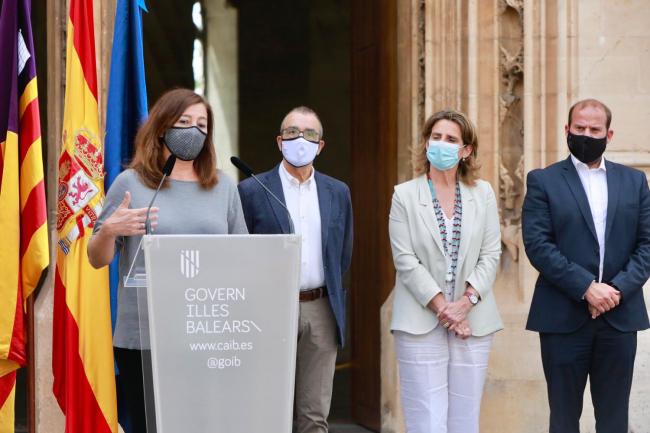 Baleares recibirá 230 millones de euros de fondos europeos para proyectos de transición energética