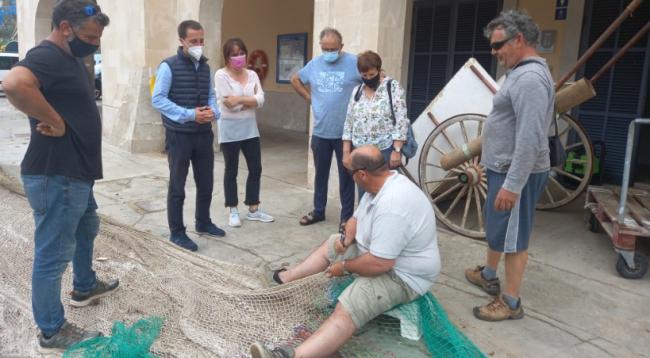 El Partido Popular muestra su apoyo al sector pesquero de Mallorca