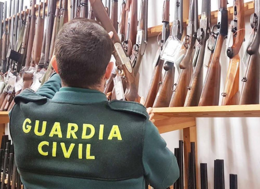 La Guardia Civil llevará a cabo una de las últimas subastas de armas