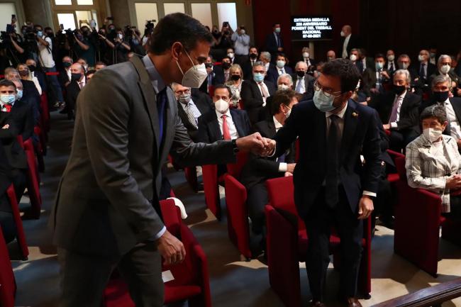 Sánchez reivindica en Barcelona la concordia y el reencuentro como armas de progreso