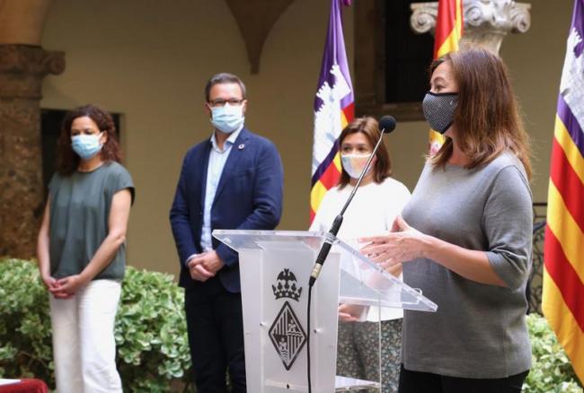 El Govern, el Consell y el Ayuntamiento de Palma destinan 11,5 millones de euros para ayudas al tejido empresarial de Ciutat