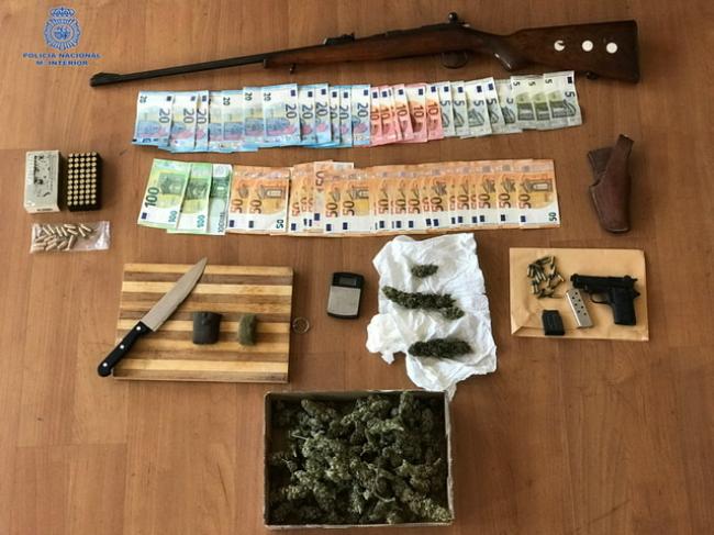 La Policía Nacional detiene a seis personas por tráfico de drogas