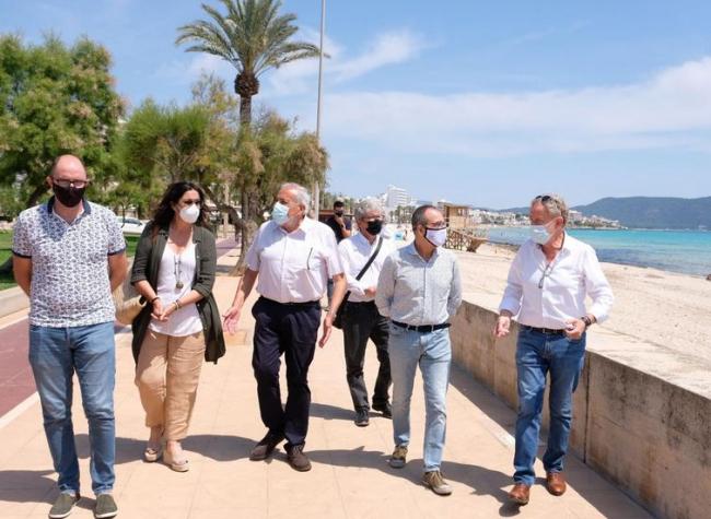 Proyecto piloto en la playa de Cala Millor que evaluará y propondrá medidas de adaptación ante el cambio climático