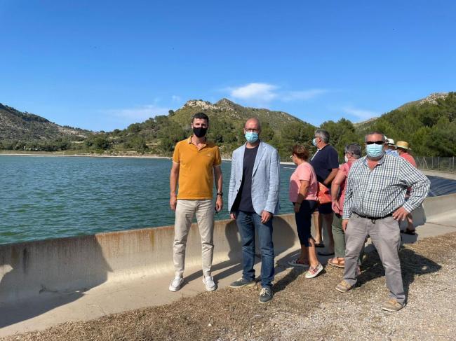 Agricultura inaugura la balsa de riego de Artà después de solucionar el suministro eléctrico
