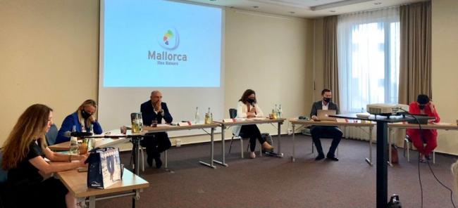 Mallorca inicia en Frankfurt las reuniones con el sector turístico del principal mercado emisor para la isla