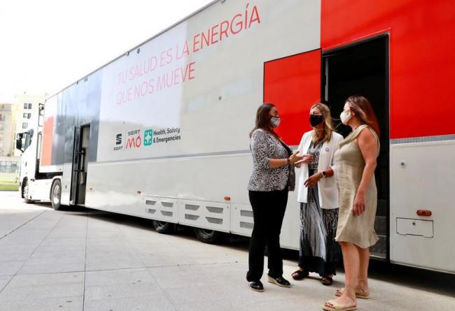 Seat S.A. cede a Baleares tres unidades móviles habilitadas para la vacunación masiva