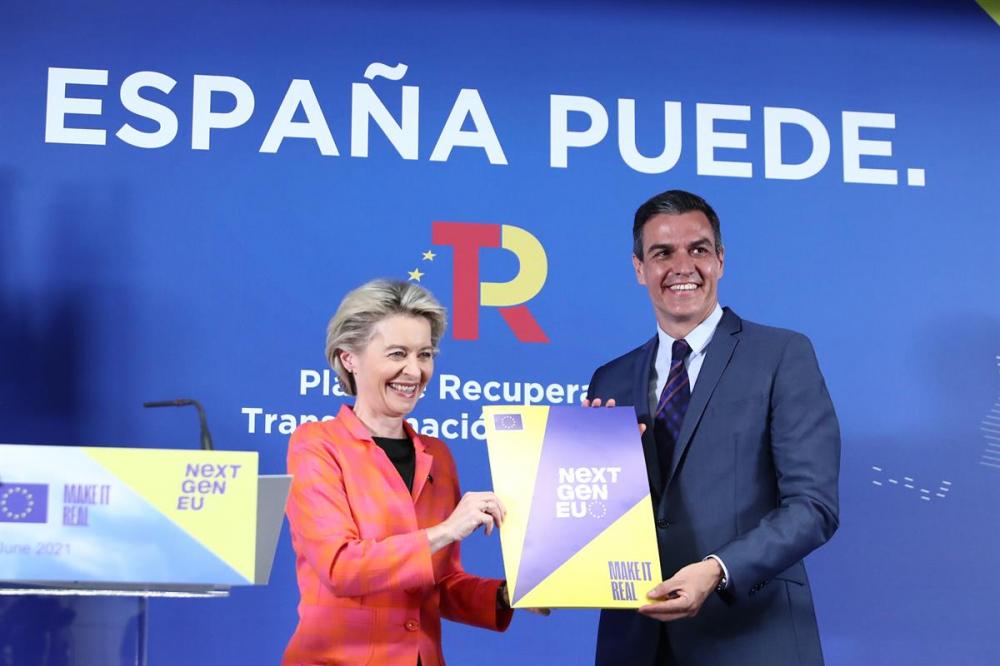 La Comisión Europea aprueba el Plan de Recuperación, supone la llegada inmediata de 9.000 millones