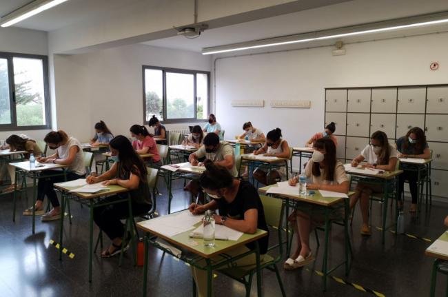 Ninguna incidencia remarcable y total normalidad en el inicio de las oposiciones docentes en Baleares
