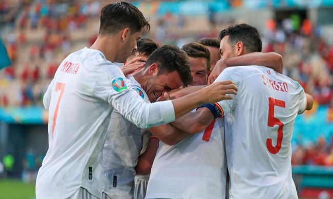 La Selección española golea 5-0 a Eslovaquia
