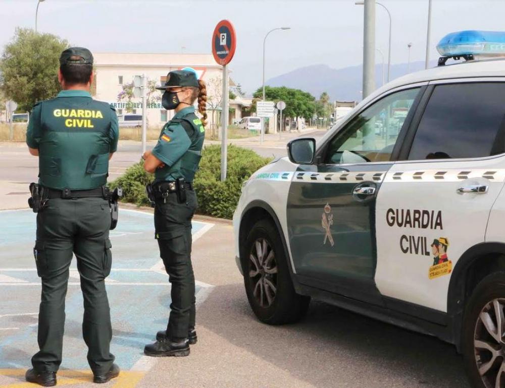 La Guardia Civil detiene a la autora de varios incendios intencionados en Ibiza