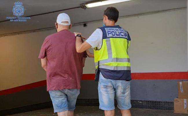 La Policía Nacional detiene en Palma a un hombre por agresiones sexuales a dos mujeres