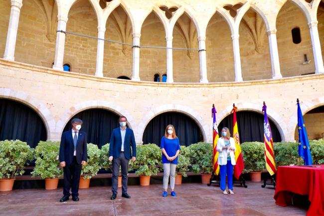 El Govern, el Ayuntamiento y el Estado sellan la financiación de la nueva depuradora de Palma