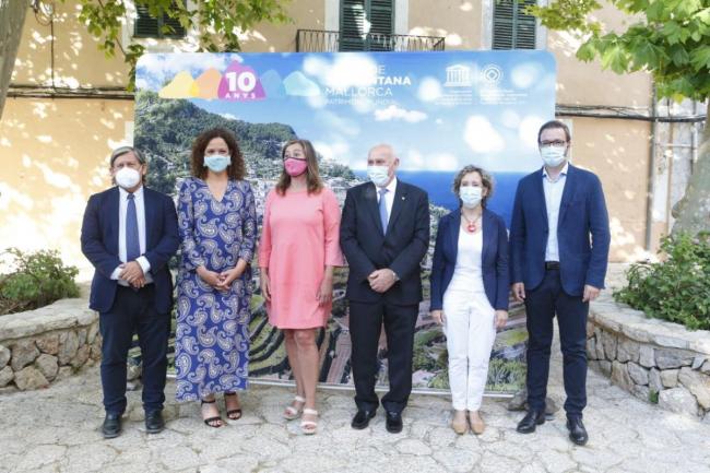 La presidenta del Consell reclama fondos europeos para garantizar el «futuro sostenible de la Serra»