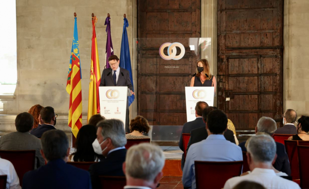 Concluye la I Cumbre Illes Balears-Comunitat Valenciana con el compromiso de seguir fortaleciendo estrategias