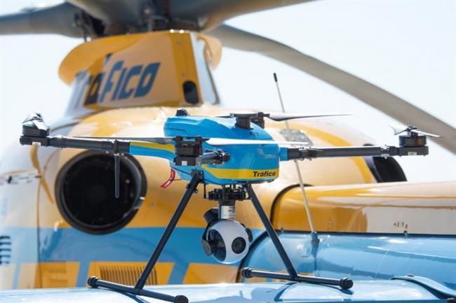 Tráfico distribuye los 39 drones que vigilarán las carreteras españolas este verano