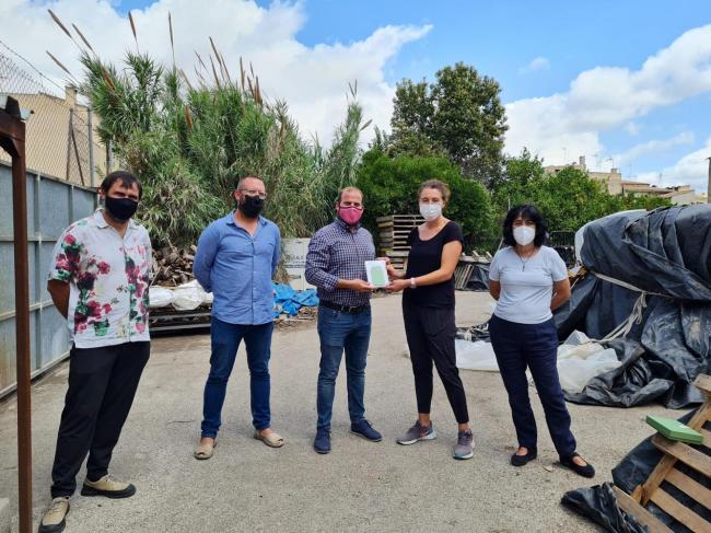 La empresa Can Batliu recibe el premio SIGFITO para ser la que más envases agrarios recicló en 2020
