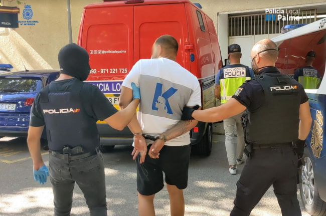 Desmontan una organización criminal dedicada al hurto a turistas en Palma