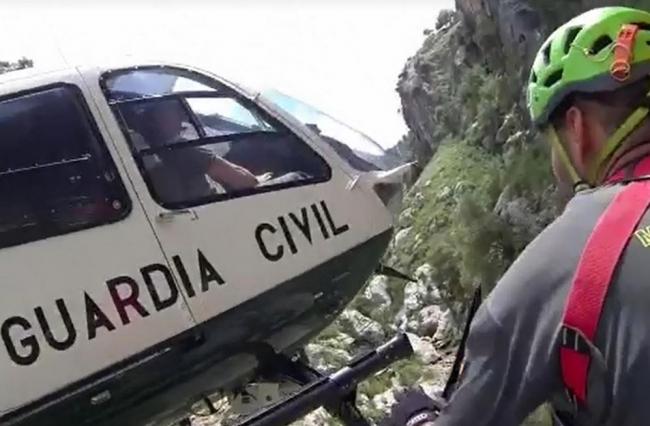 La Guardia Civil rescata a dos senderistas desorientados en Deiá