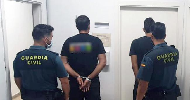 La Guardia Civil ha detenido a dos hombres por hacerse pasar por policías tras un altercado en Bunyola