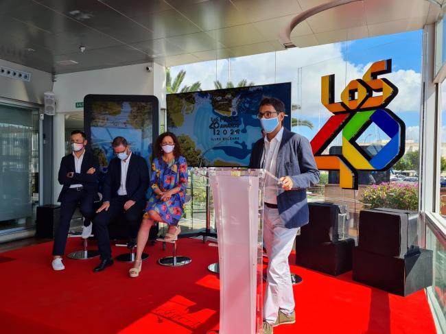 """Las islas acogerán en noviembre el evento """"La semana de Los 40 en Illes Balears"""""""
