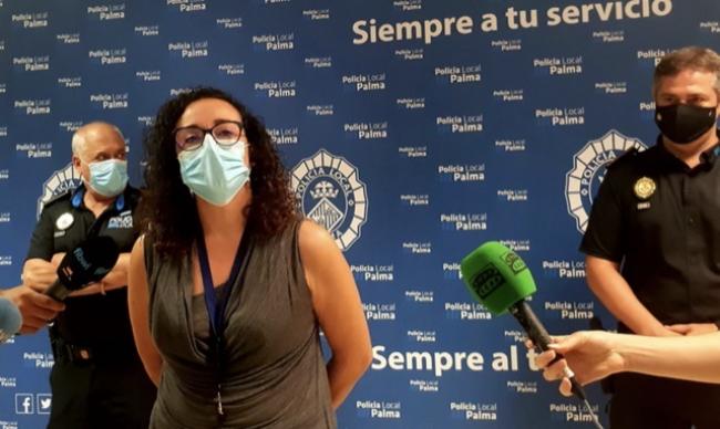 La Policía local de Palma hace horas extra debido a los dispositivos antibotellón