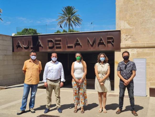 Los gobiernos balear y valenciano presentarán un proyecto conjunto para proteger la biodiversidad del Mediterráneo