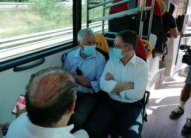Los usuarios de la Tarjeta Intermodal que combinan líneas de TIB y EMT podrán llegar a su hospital sin pagar el bus de Palma