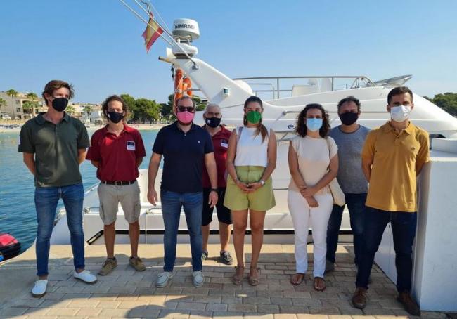 El Servicio de vigilancia de posidonia Balear, modelo a seguir para la Comunitat Valenciana