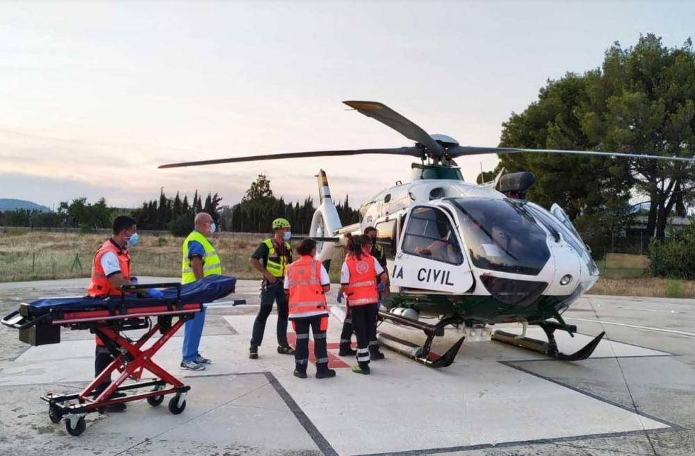 La Guardia Civil rescata a un senderista herido en Artá