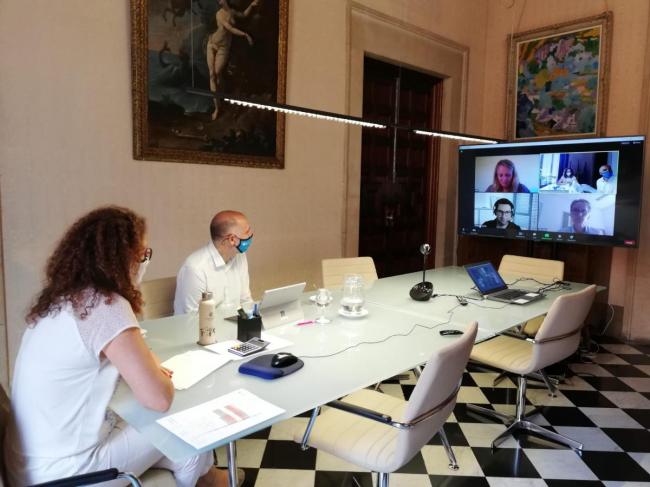 Reunión de la presidenta Cladera con los principales agentes turísticos del Reino Unido y Alemania