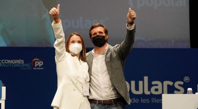 Prohens, elegida presidenta del PP con el 99,72 % de los votos en el XVI Congreso Regional