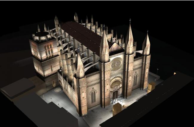 Palma ha adjudicado hoy la renovación del alumbrado ornamental exterior de la Catedral por 2.231.699 euros