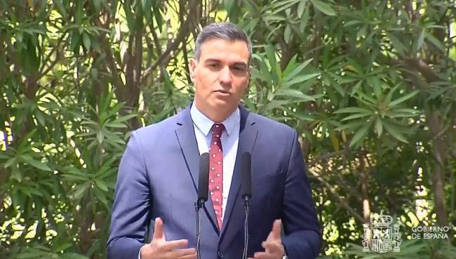 Pedro Sánchez: Hemos pasado de una España de la resistencia a una España de la recuperación