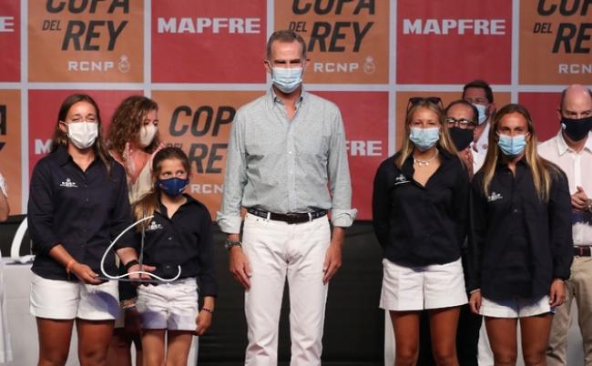 El Rey entregó los premios a los campeones de la 39ª edición de la Copa del Rey MAPFRE