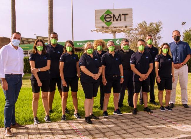 Ya se han incorporado a la EMT Palma los nuevos conductores que ayudarán a cubrir el incremento de la demanda