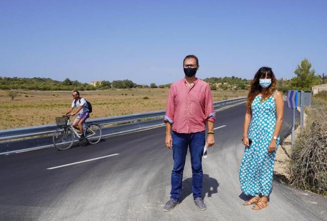 El Ayuntamiento de Manacor ha reformado la carretera de Son Macià, tras años de reivindicaciones vecinales
