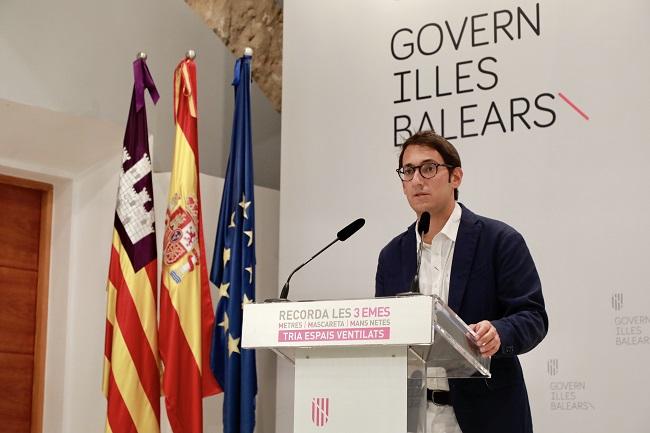 Baleares reduce en una hora las limitaciones nocturnas en Mallorca y amplía la ocupación de mesas en Restauración