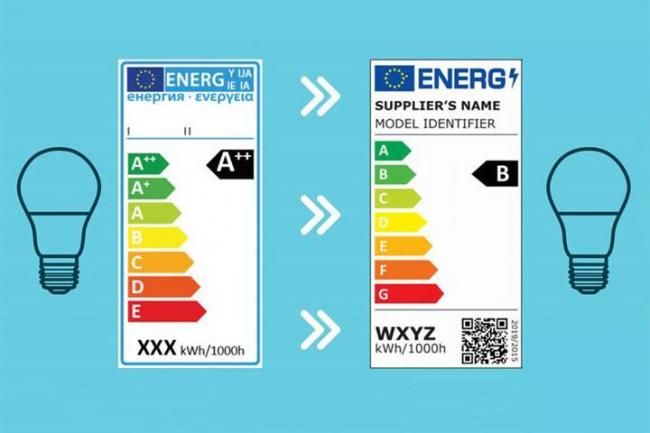 Entra en vigor el nuevo etiquetado energético para fuentes de iluminación