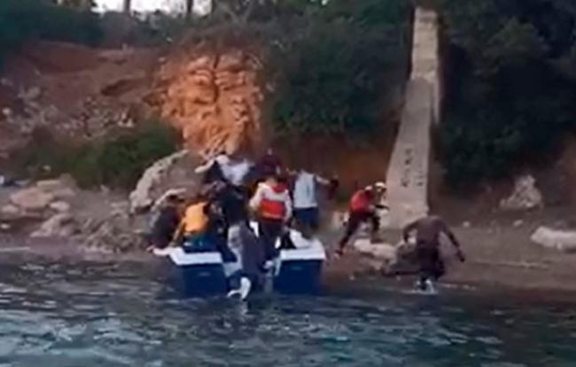 VOX sobre la última patera llegada a Calviá: «los inmigrantes ilegales desembarcan con total impunidad en el corazón turístico de Baleares»