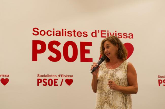 Armengol: 'Estoy orgullosa de un Partido Socialista que ha protegido a la gente y ha mantenido viva la economía de las Islas Baleares'