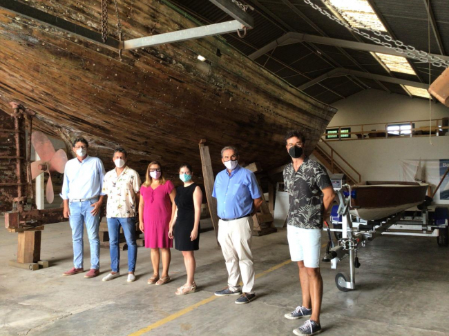 Una veintena de embarcaciones del Museu Marítim serán restauradas por los maestros en los próximos años