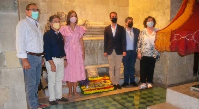 El PP celebra con una ofrenda floral a Jaume II la Diada de Mallorca que promete recuperar en 2023